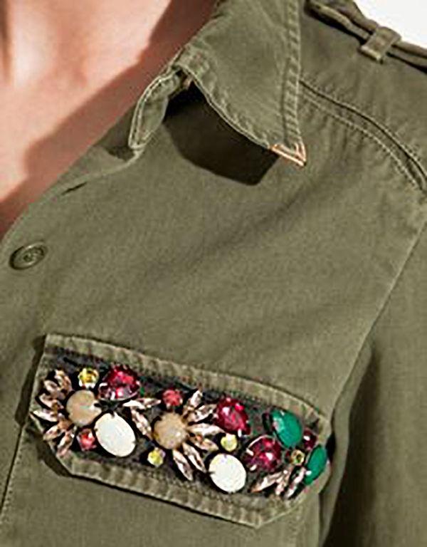 Многообразный декор джинсовых курток: 50 интересных вариантов, фото № 32