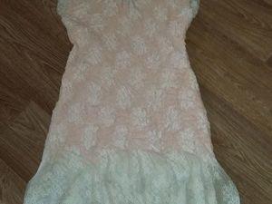 Аукцион на платье из гипюра!. Ярмарка Мастеров - ручная работа, handmade.