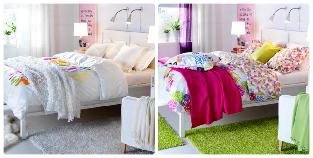 полезные советы, сочетание подушек и штор, как создать уют