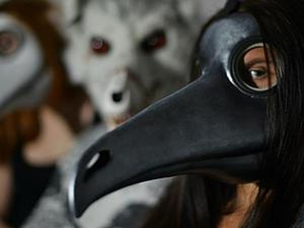 Modelling A Plague Doctor Mask with Your Own Hands   Livemaster - handmade