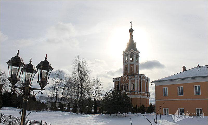архитектура, церковь, зимний пейзаж, видео, монтаж, обработка фото, фотосъемка