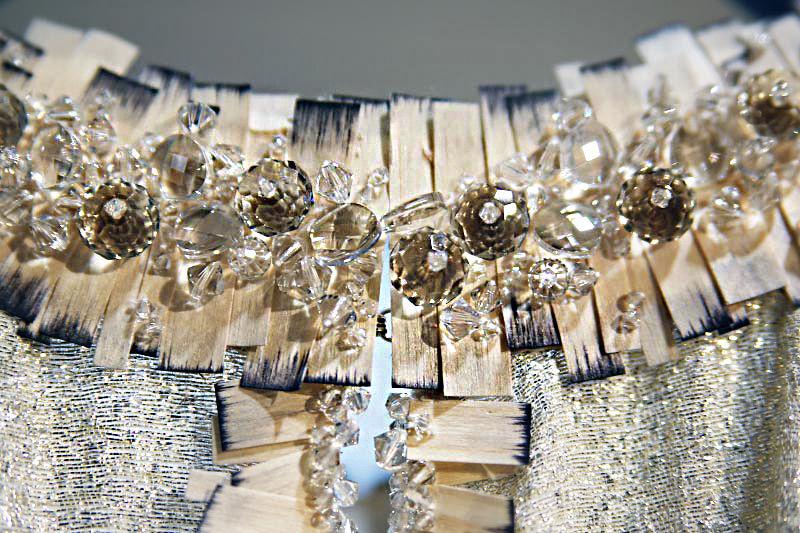 вышивка блестками
