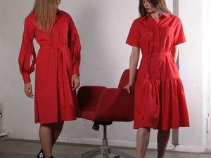 Скидки 50-60% на платья-рубашки!!!. Ярмарка Мастеров - ручная работа, handmade.