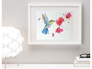 Две новые акварели от Illustravel. Ярмарка Мастеров - ручная работа, handmade.