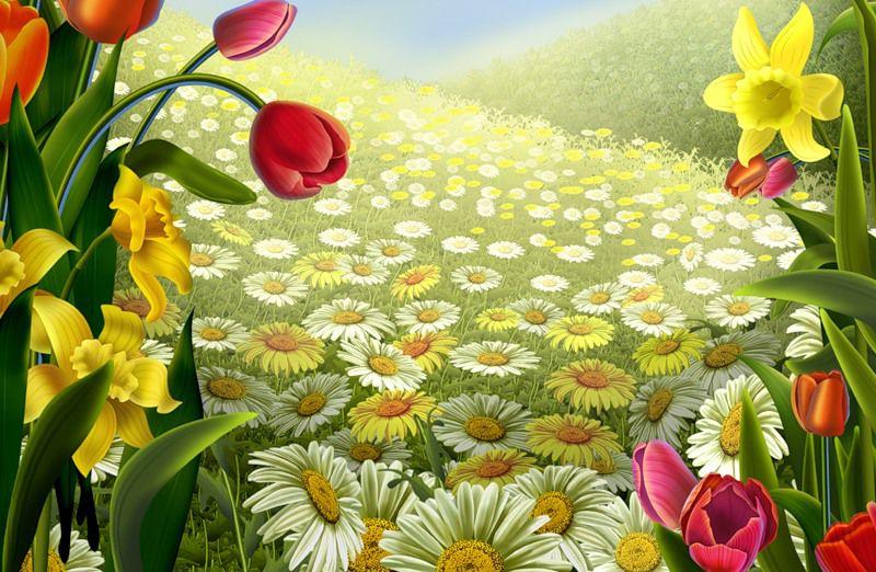 Весенняя сказка (Арина Демидова) / Стихи.ру - национальный сервер современной поэзии