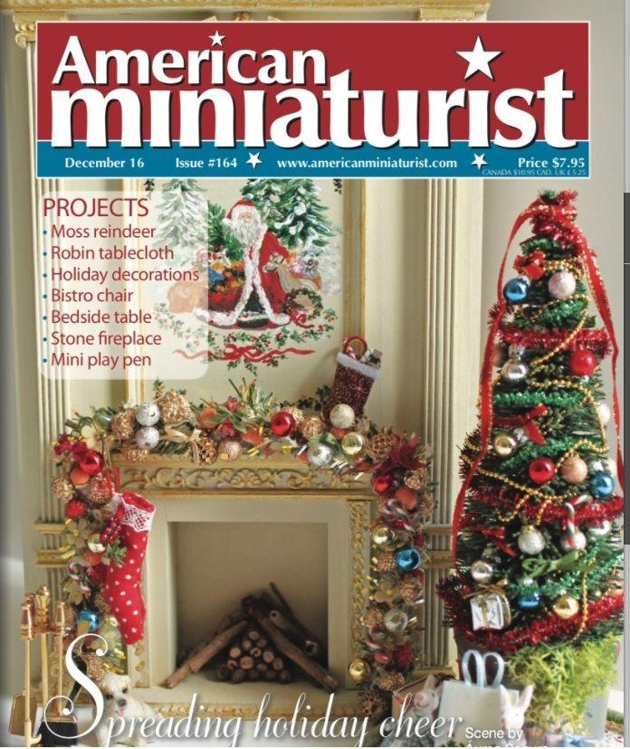 журнал, american miniaturist