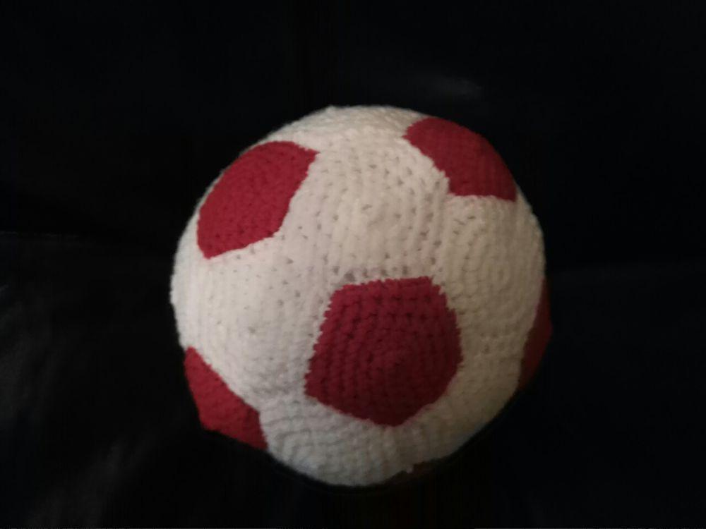 футбол, вязаный мяч, футбольный мяч вязаный, все для футбола, маленький футболист, мячик, игрушка для ребенка