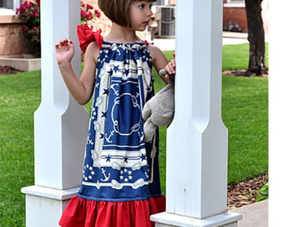 Мастер-класс Шьем Летнее Платье для девочки за 3 часа | Ярмарка Мастеров - ручная работа, handmade