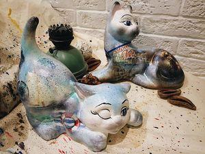 Новые морские кошки уже в магазине. Ярмарка Мастеров - ручная работа, handmade.