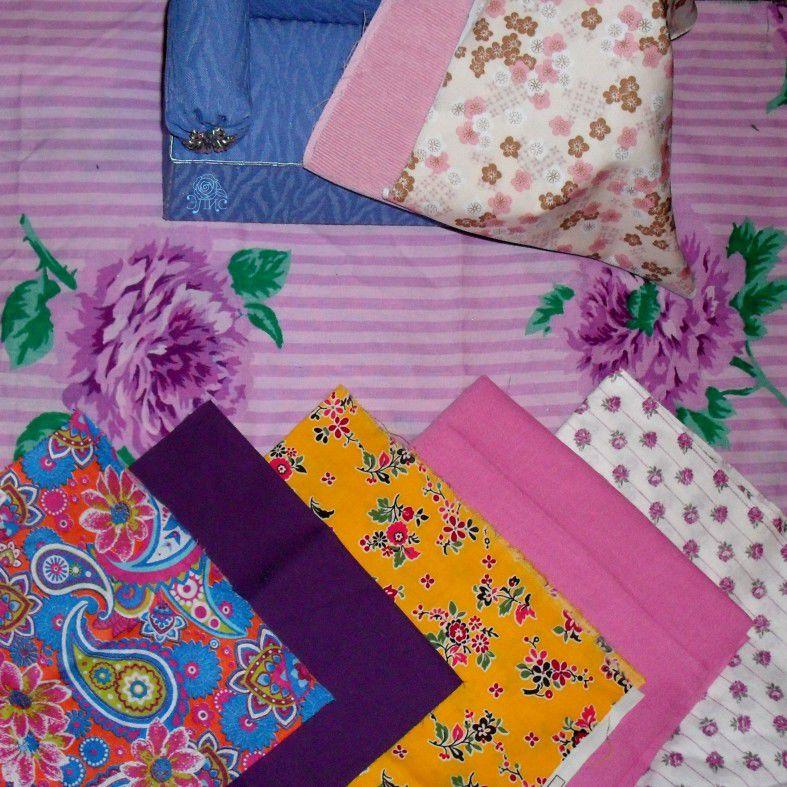 ткани для рукоделия, ткани для творчества, кукольная одежда