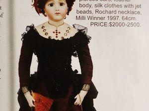 Коллекця антикварных и авторских кукол Ronis'а. Ярмарка Мастеров - ручная работа, handmade.