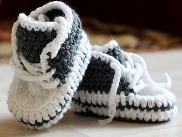 Пинетки кеды для малышей | Ярмарка Мастеров - ручная работа, handmade