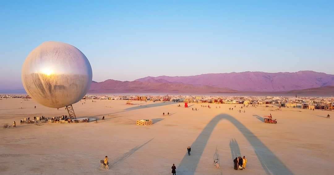 Burning Man 2018: лучшие моменты фестиваля радикального самовыражения