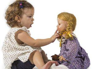 Игра «Учим куклу говорить» | Ярмарка Мастеров - ручная работа, handmade