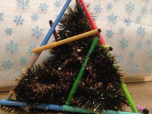 Создаем с детьми эко-ёлку | Ярмарка Мастеров - ручная работа, handmade