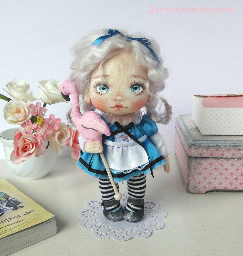 кукла текстильная, кукла в подарок, алиса в стране чудес