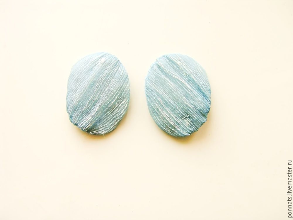 Modeling Textile Earrings with Embroidery, фото № 16