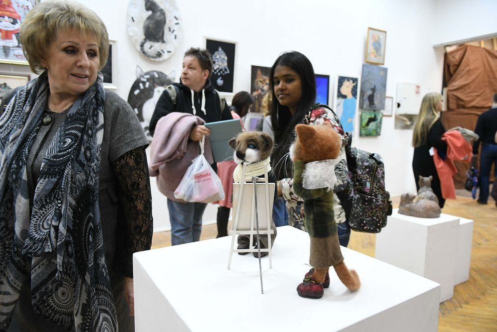 Международная выставка-фестиваль «Портрет кошки» в Санкт-Петербурге