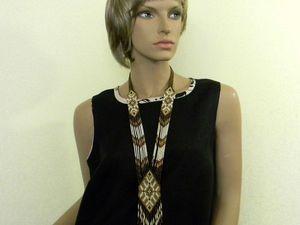 Маленькое чёрное платье из льна. Ярмарка Мастеров - ручная работа, handmade.