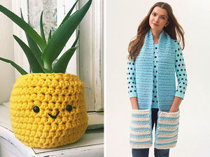 20 Useful Projects to Simply Crochet in a Second. Livemaster - handmade