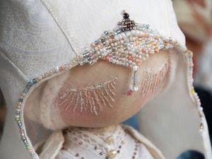 Вышиваем лицо кукле. Ярмарка Мастеров - ручная работа, handmade.