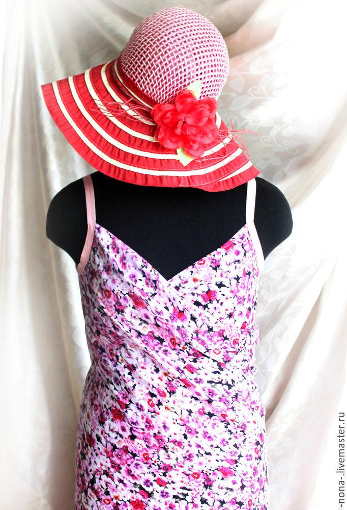 штапельное платье