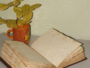 Старая бумага. Очень старая. Совсем-совсем старющая. Ярмарка Мастеров - ручная работа, handmade.