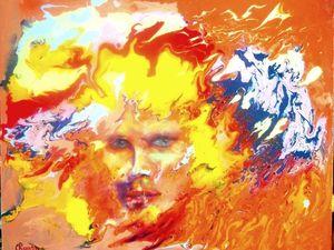 """Видео с картиной """"Любовь осенью"""" и процесс ее создания. Ярмарка Мастеров - ручная работа, handmade."""