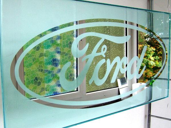 зеркало логотип форд | Ярмарка Мастеров - ручная работа, handmade
