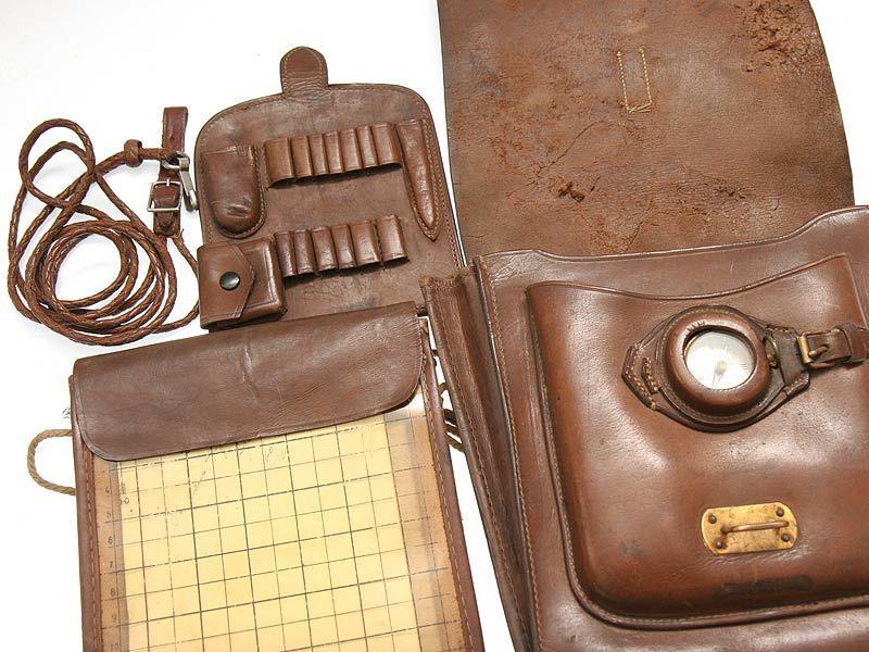 сумка командира, сумка из кожи