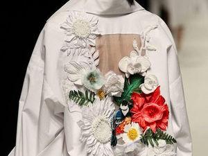 Модные пальто 2018. Тренд № 2: Floral Garden. Ярмарка Мастеров - ручная работа, handmade.