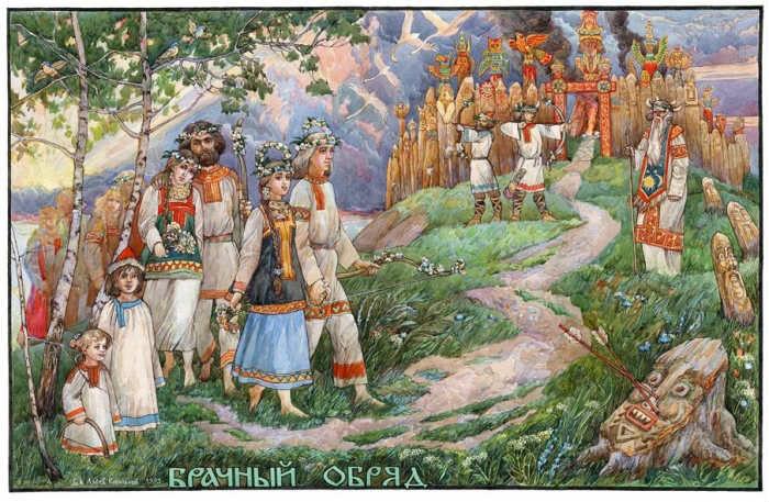 свадебные чины, традиции, иванка, одежда из льна