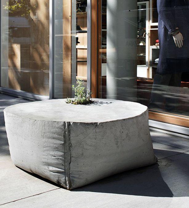 декорация из бетона фото