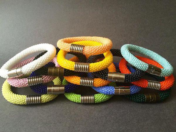 Вязание жгутов из бисера   Ярмарка Мастеров - ручная работа, handmade