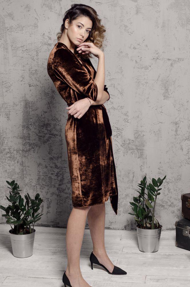 новинка магазина, бархатное платье, офисный стиль, красивое платье