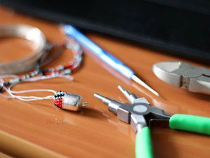 Как быстро, красиво и без отходов оформить начало вязаного жгута из бисера. Ярмарка Мастеров - ручная работа, handmade.