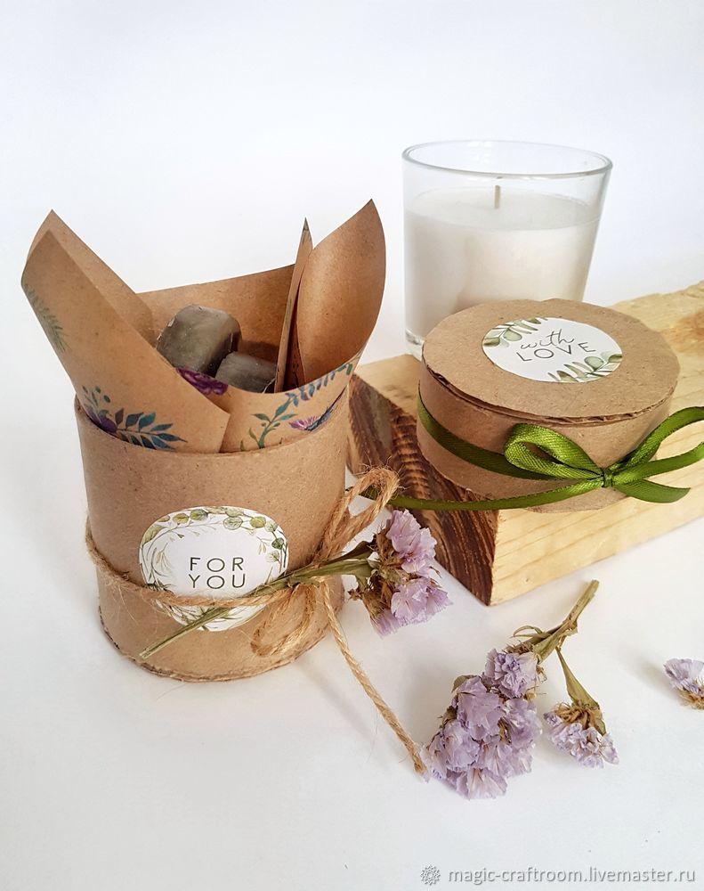 packaging for soap, gift box, tube body, homemade box