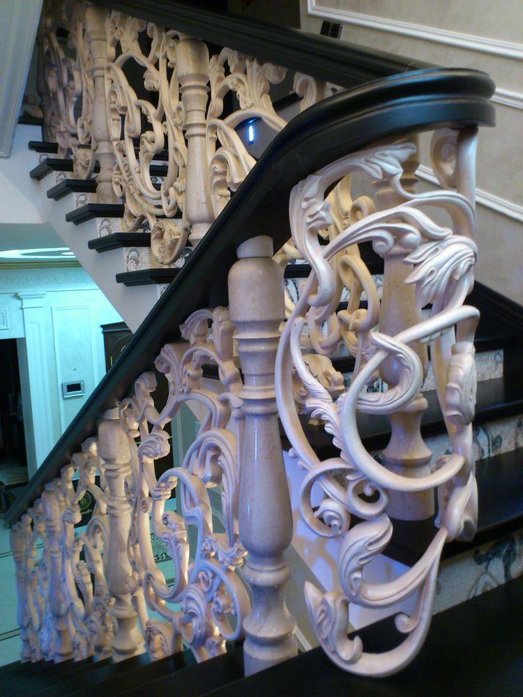 лестница, украшение интерьера