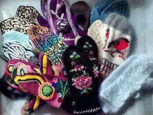 Мои прекрасные варежки. Ярмарка Мастеров - ручная работа, handmade.