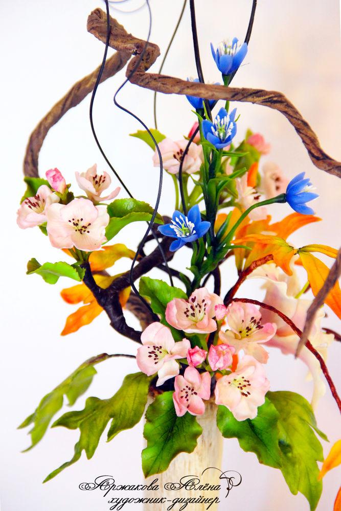 Икебана искусство составления букетов распространенное в японии
