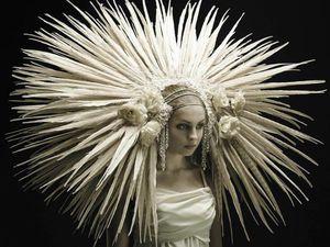 Смертельная красота из перьев: шокирующие наряды Jess Eaton. Ярмарка Мастеров - ручная работа, handmade.
