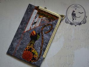 Сумочка — чехол. Ярмарка Мастеров - ручная работа, handmade.