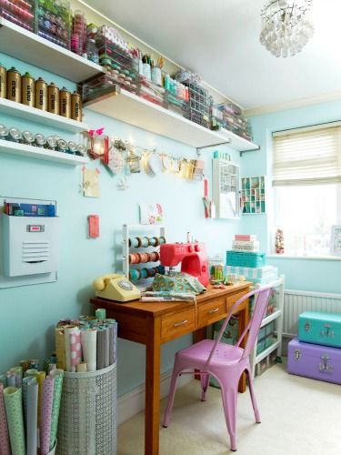 Turn a spare area into a streamlined creative space with these smart ideas.