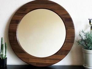 Купить настенное круглое зеркало - необходимый атрибут и замечательный аксессуар для любого помещения - по самым выгодным ценам в нашем магазине.. Ярмарка Мастеров - ручная работа, handmade.