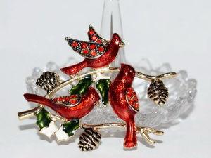 Чудесные винтажные птички !. Ярмарка Мастеров - ручная работа, handmade.