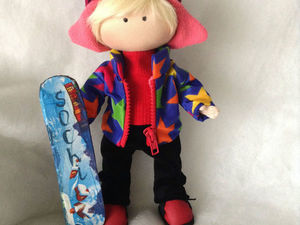 Кукла тыквоголовка, мальчик Слава. Ярмарка Мастеров - ручная работа, handmade.