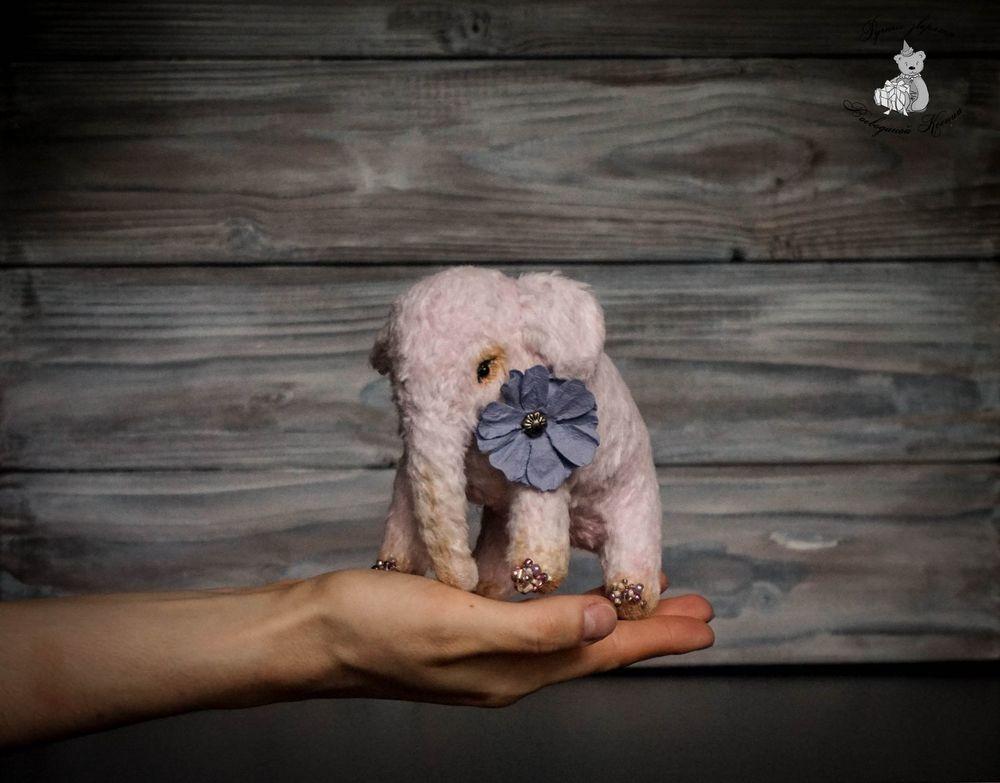 слоненок, интерьерная игрушка, красители