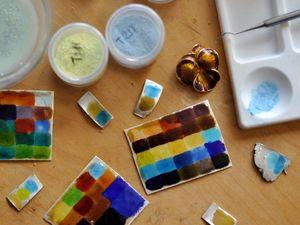 Финальный обжиг кольца с эмалью. Ярмарка Мастеров - ручная работа, handmade.