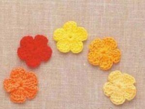 Мастер-класс вязания крючком для взрослых и детей от 12 лет  «Цветочки» | Ярмарка Мастеров - ручная работа, handmade