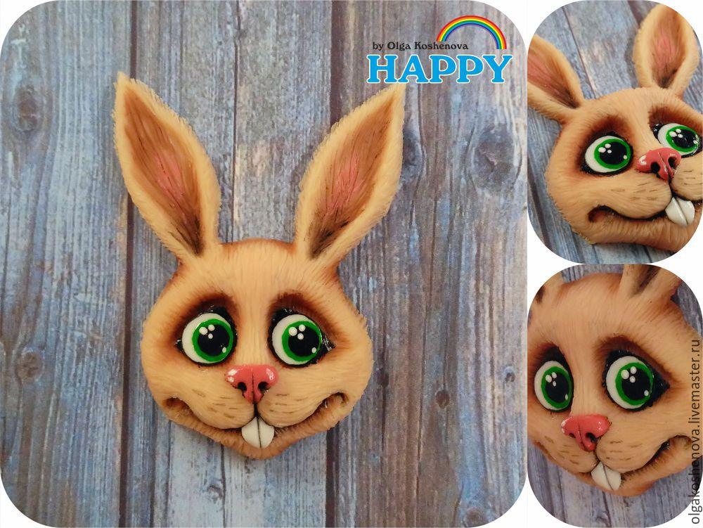 зайчик, заяц, мастер-класс, видео-урок, видео мастер-класс, мк, кролик, полимерная глина, пластика